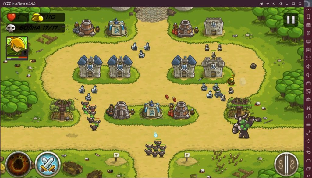 Kingdom Rush на компьютере